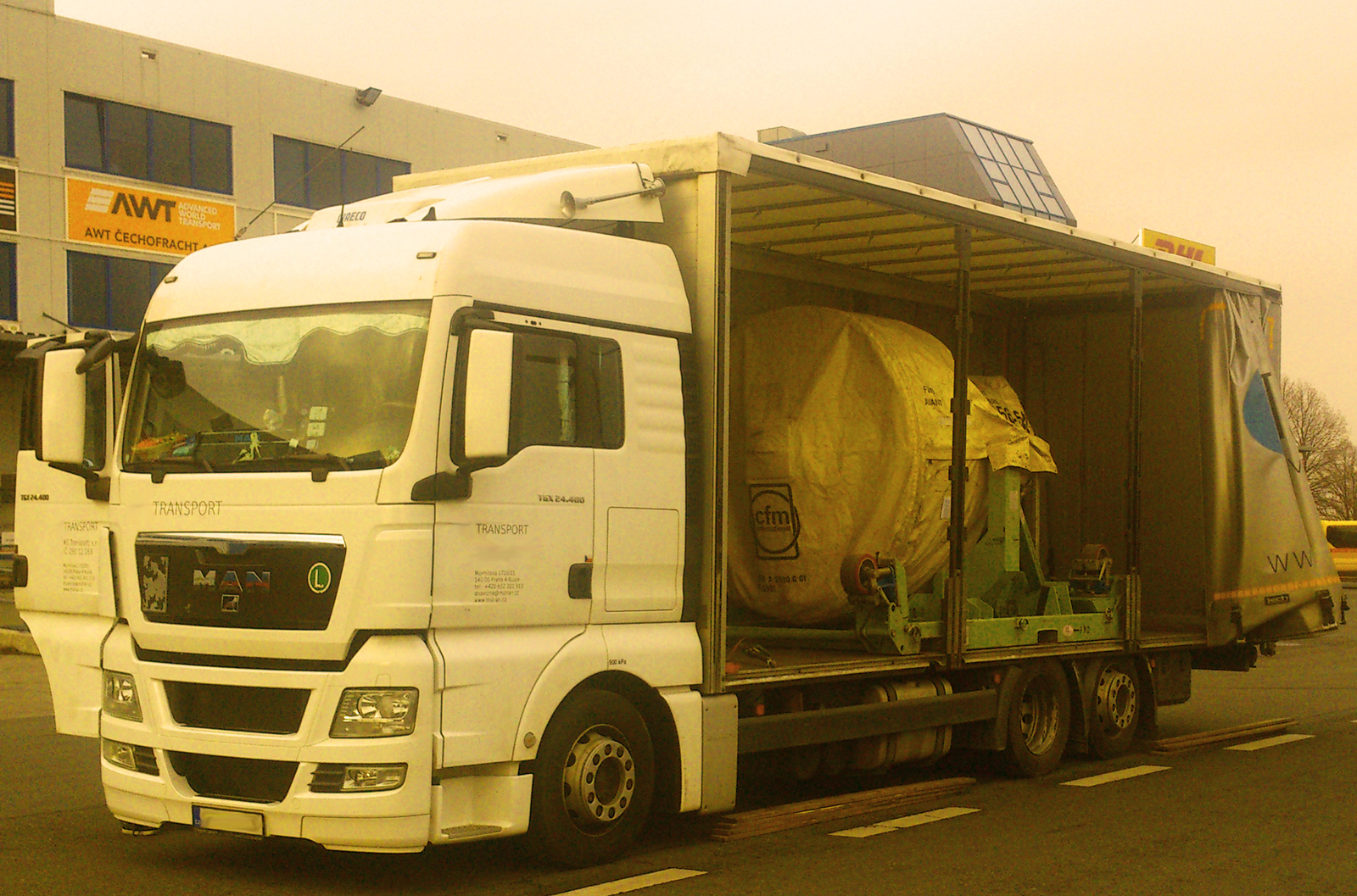 Control Towers-Road Freight CTI Czech
